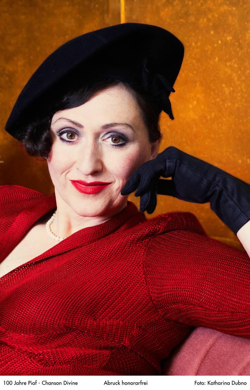 Bildnachweis: 03 2016-11-02 Chanson Divine - 100 Jahre Edith Piaf © Katharina Dubno