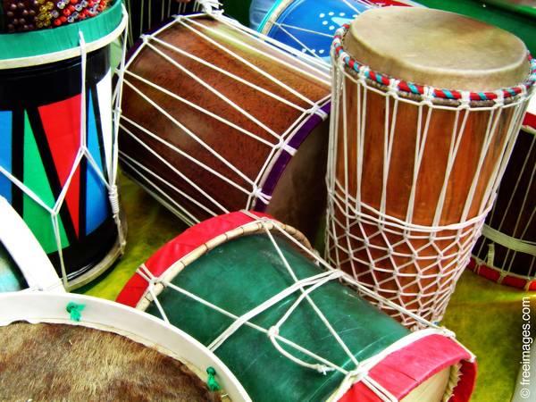 Afrikanisches Trommeln