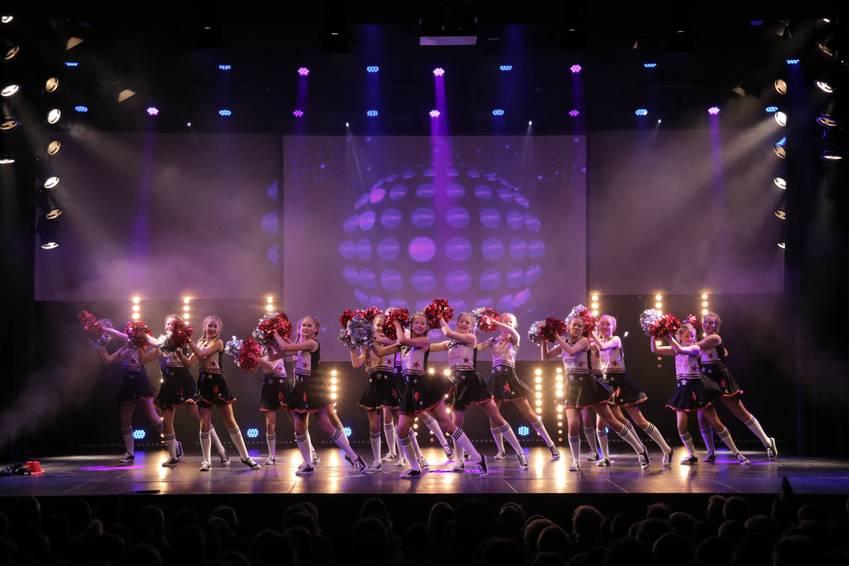 """Tanzgruppe """"Flöckchen"""" der Warendorfer Karnevalsgesellschaft"""