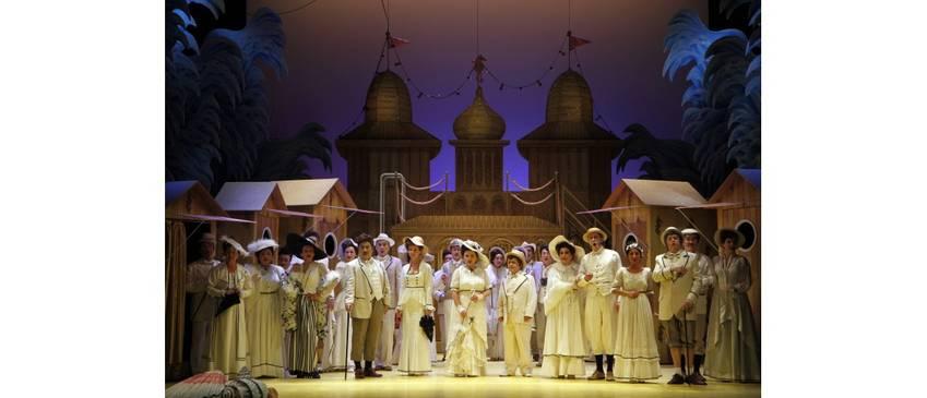 Bildnachweis: Pressefoto Die Fledermaus © Landestheater Detmold