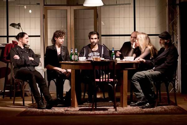 Soul Kitchen - Schmitt Heckmann, Morariu Derendeli, Gerl Mackeldey © Hessisches Landestheater Marburg